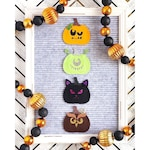 Jack-o-Lantern Letter Board Accessories and Icons