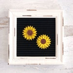 Sunflower Letter Board Accessories and Icons   Set of 2