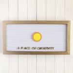 Sun Letter Board Icon / Sunshine Letter Board Accessory / Letter Board Ornament