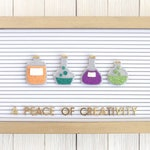 Halloween Potions Letter Board Accessories/Banner