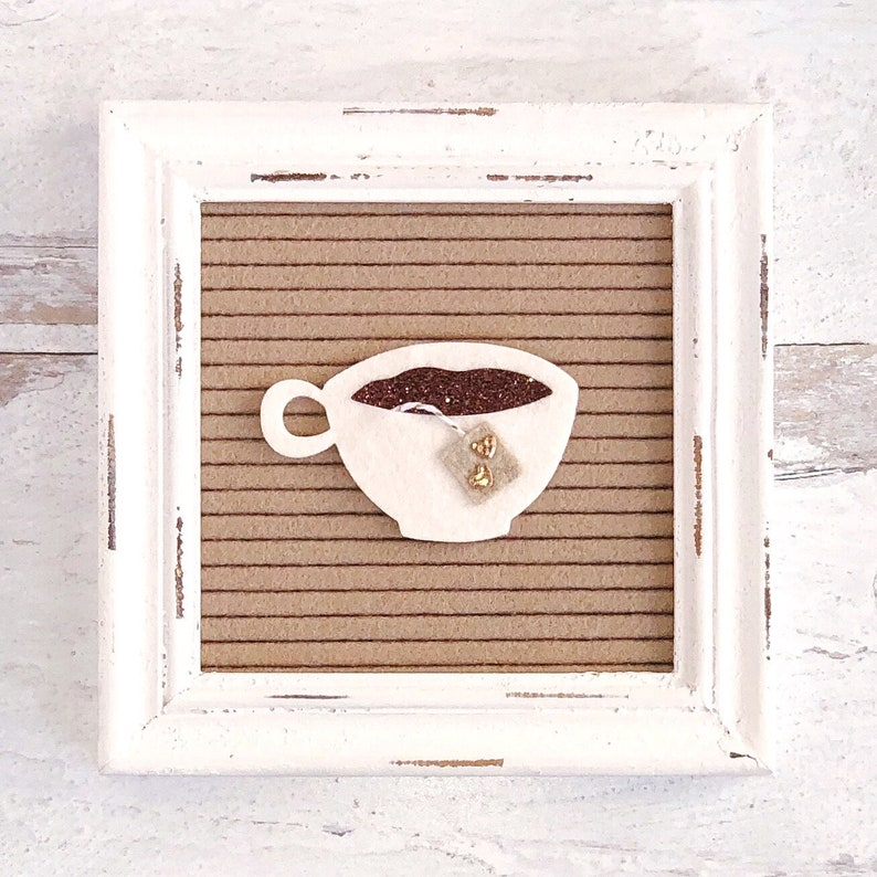 Teacup Letter Board Accessory and Icon image 0