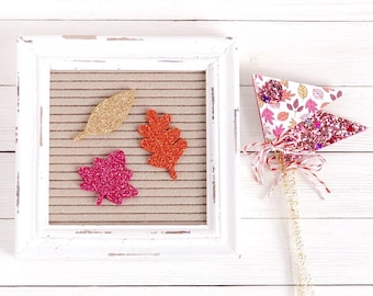 Fall Leaves Letter Board Icons and Decor Pick
