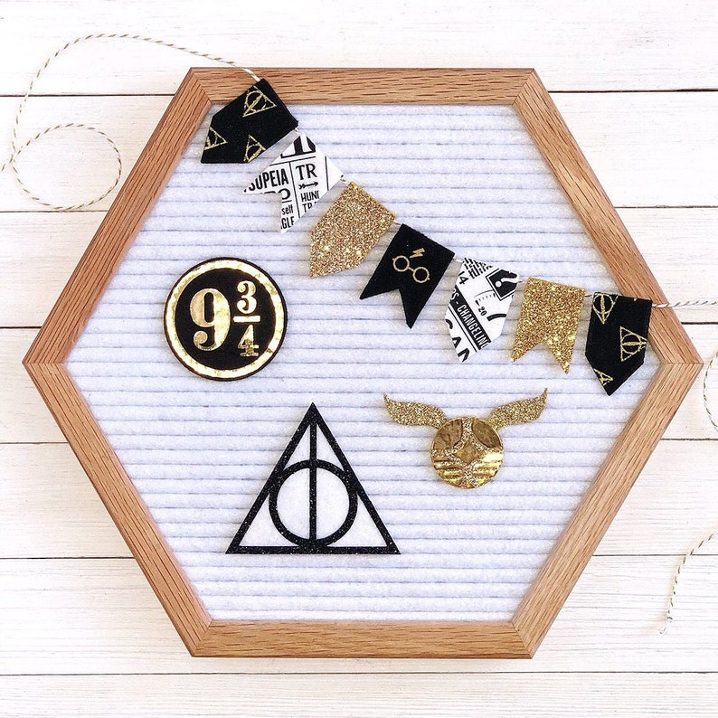 Wizarding Letter Board Accessories or Banner image 0