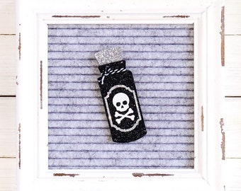Poison Bottle Letter Board Icon & Accessory