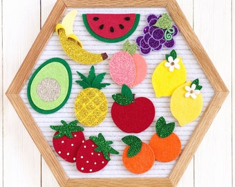 Fruit Letter Board Icons & Accessories