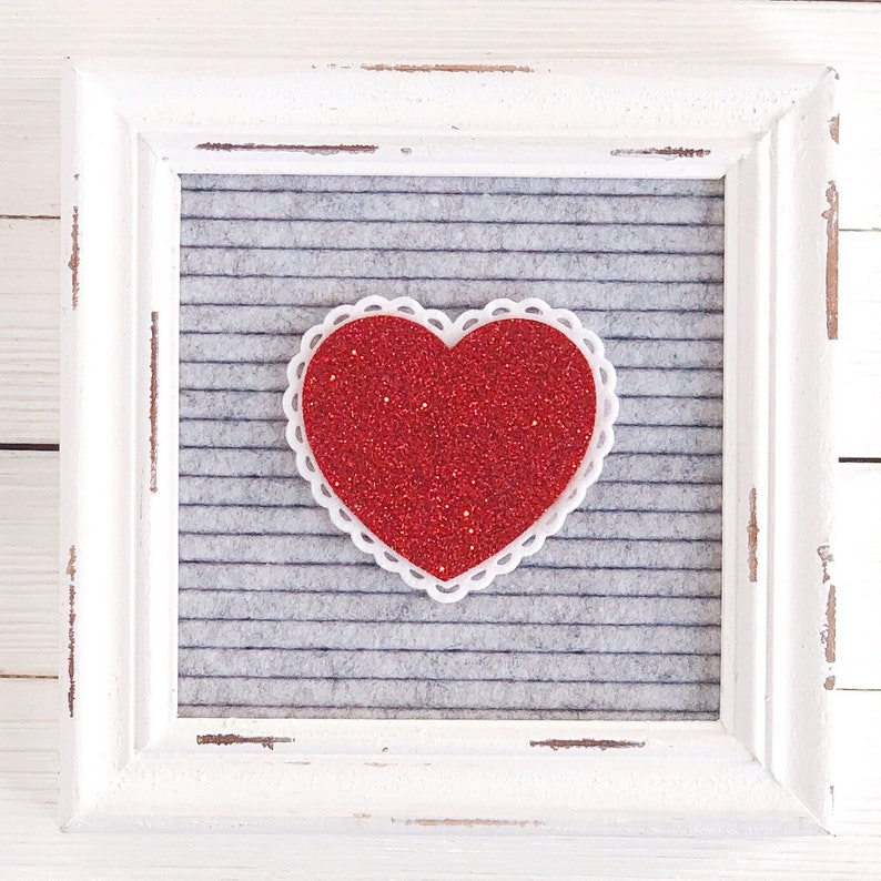 Valentine Heart Letter Board Icon and Accessory image 0