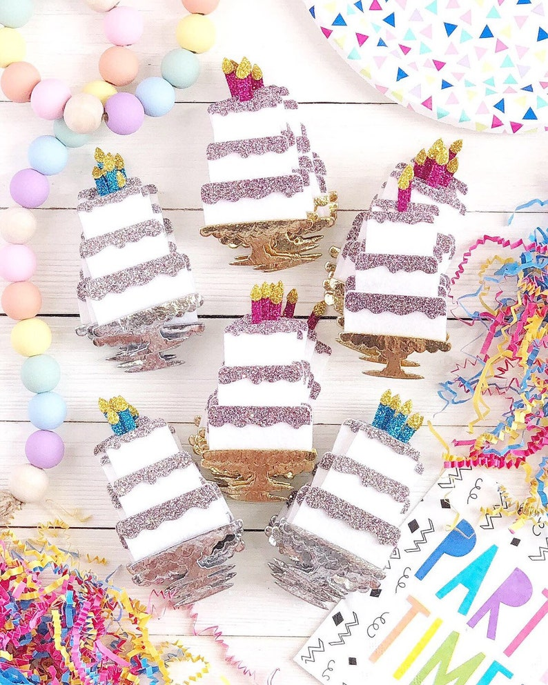 Birthday Cake Letter Board Icon and Accessory image 0
