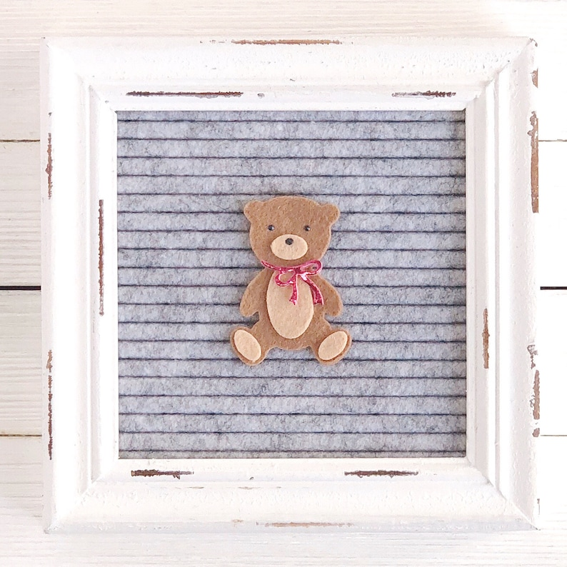 Teddy Bear Letter Board Icon and Accessory image 0