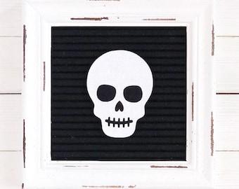 Skull Letter Board Icon & Accessory