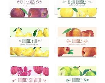 Thank You Greeting Card Set