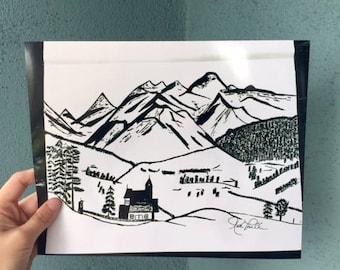 Colorado Print