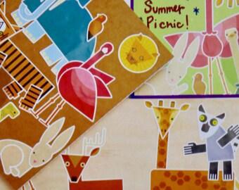 Sunny Safari Stickers
