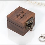 ring box wedding ring box ring bearer box engagement ring box proposal ring box ring bearer wooden ring box rustic ring box custom ring box