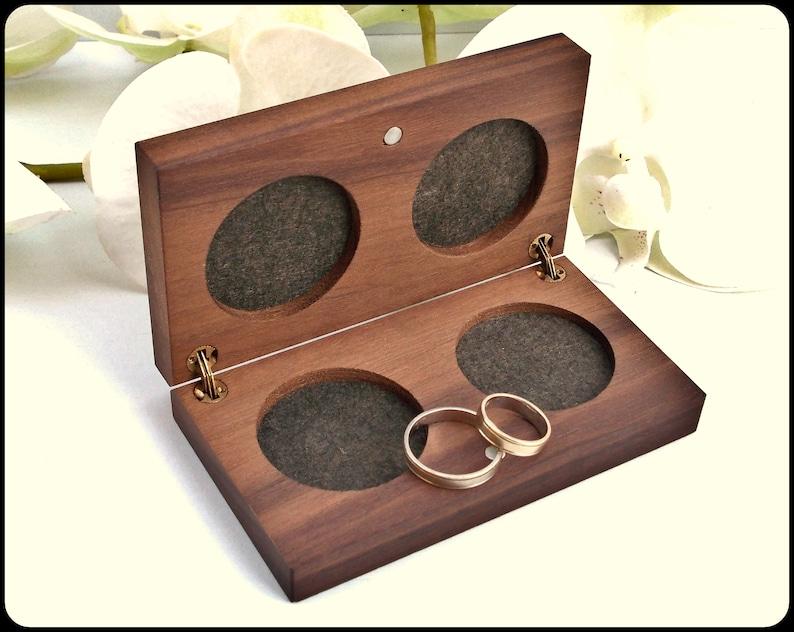 ring bearer box wood ring box vintage wood ring box wedding ring box wedding ring holder Proposal ring box wedding ring holder