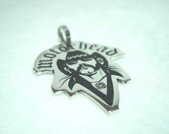 Lemmy pendant, heavy metal pendant, Motorhead pendant