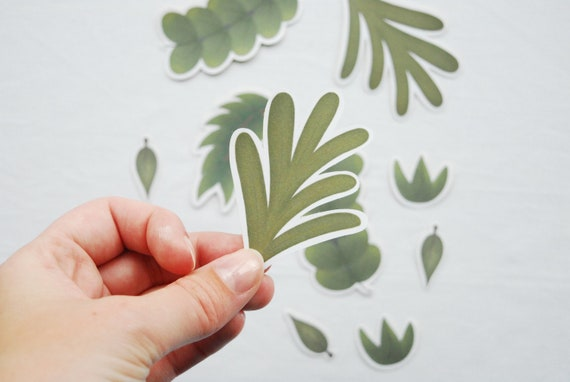Plant Lovers Sticker Cute Plants Sticker Pack Cute Fall Stickers Plant Stickers Cozy Stickers Planner Stickers