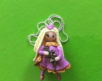 Necklace Princess necklace, girl, doll necklace