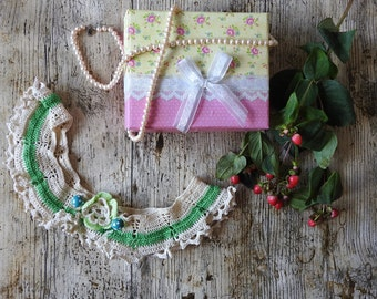 Lovely Handmade Crochet Collar