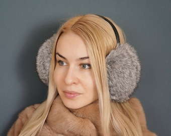 Short Phrase Studying Literatures Winter Earmuffs Ear Warmers Faux Fur Foldable Plush Outdoor Gift