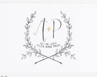 wedding logos - Parfu kaptanband co