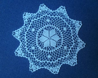 DOILY cotton crocheted N77