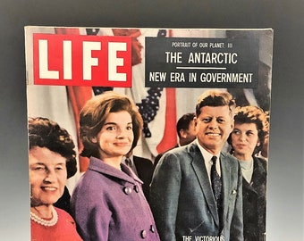 Life Magazine - The Victorious Young Kennedys - November 21, 1960