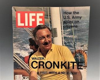 Life Magazine - Walter Cronkite - March 26, 1971