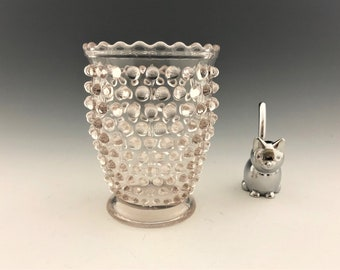 EAPG Spooner - Hobnail Pattern - Early American Pattern Glass