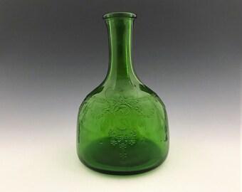 Whitehouse Vinegar Bottle - Hocking Cameo Ballerina Dancing Girl Pattern - Owens Illinois Glass