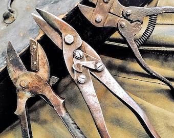 Vintage Tools Snips Pliers