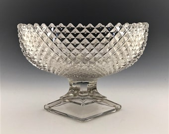 Westmoreland English Hobnail - 9 Inch Oval Footed Bowl - Hard to Find