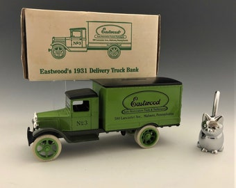 Eastwood 1931 Delivery Truck Bank - New In Box - Ertl Company Collectible Truck
