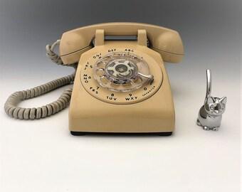 Vintage Rotary Phone - Working ITT Telephone