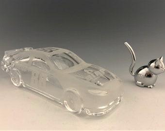 Dale Earnhardt Jr. Glass Number 88 Mountain Dew NASCAR Stock Car - Glass Race Car - Hard to Find - Racing Memorabilia