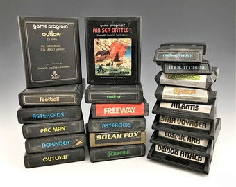 Collection of 20 Video Game Cartridges - Atari 2600