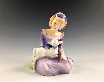 Royal Doulton Figurine - Mary Had A Little Lamb
