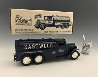 "Eastwood Limited Edition 1930 ""Diamond T"" Tanker Truck - Truck Bank - New In Box - Ertl Company Collectible Truck"