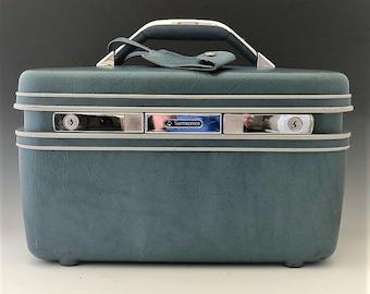 Samsonite Silhouette Suitcase - Train Case -Cosmetics Case