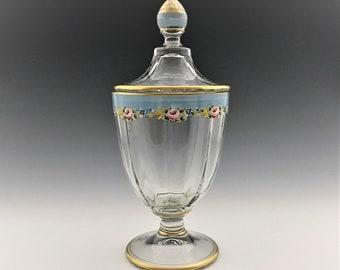 Stunning Duncan Miller #91 Half Pound Candy Jar - Elegant Depression Era Glass Jar