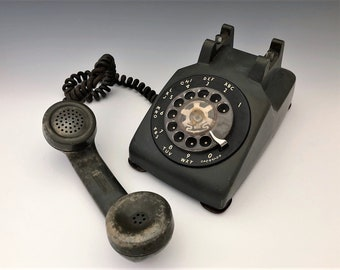 Vintage Rotary Phone - Western Electric G3 Phone and Handset