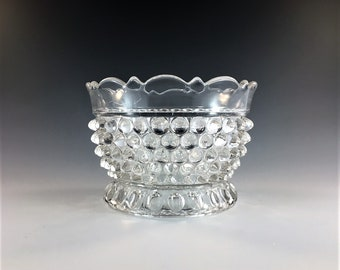 Beautiful EAPG Finger Bowl - Doyle and Company - No. 150 (OMN) - AKA Hobnail With Thumbprint - Circa 1880 - Early American Pattern Glass