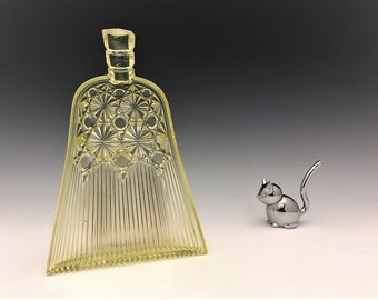 EAPG Pickle Dish - Whisk Pattern - Campbell, Jones and Company - George Duncan and Sons - Early American Pattern Glass - Circa 1886