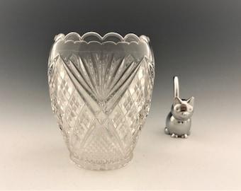 EAPG Spooner -Tarentum Glass - Virginia Pattern (OMN) - AKA Many Diamonds - Early American Pattern Glass - Circa 1895