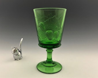 L.G. Wright  Strawberry and Currant Goblet - Hard to Find