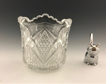 EAPG Spooner - U.S. Glass Company No. 15048 (OMN) Pennsylvania - AKA Balder - Early American Pattern Glass - Circa 1897