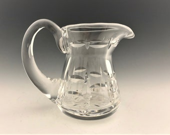 Waterford Leaded Crystal Cream Pitcher