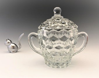 Colony Whitehall Covered Sugar Bowl and Lid - Indiana Glass