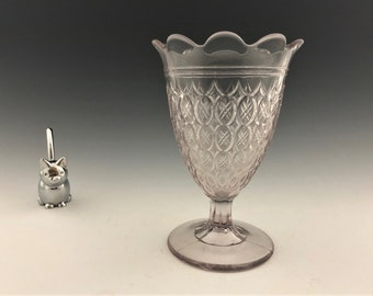 EAPG Spooner -McKee and Bros Glass - Brilliant Pattern (OMN) - AKA Double Spear - Early American Pattern Glass - Circa 1880