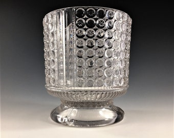 EAPG Sugar Bowl - Richards and Hartley - No. 25 (OMN) - AKA Three Panel - Early American Pattern Glass - Circa 1885