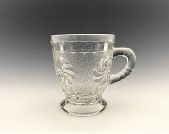 EAPG Cup/Mug - U.S. Glass Company No. 15030 (OMN) - AKA Roman Rosette - Early American Pattern Glass - Circa 1896